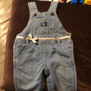 Baby b'gosh overalls good condition!